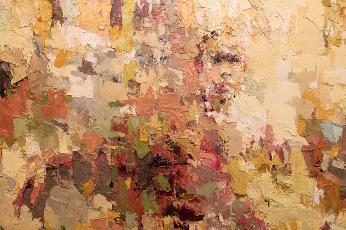Hide (detail), 2011